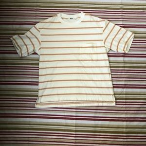 Lemaire x Uniqlo Oversized Pocket Stripe Tee